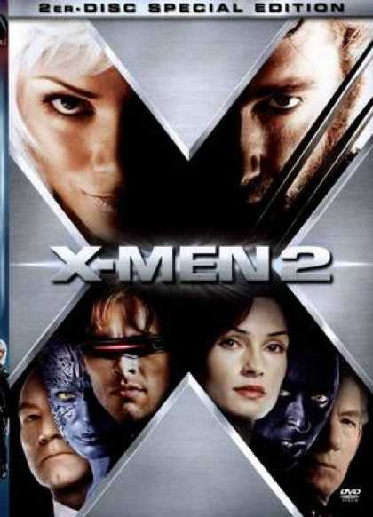 German DVDs - X-Men 2