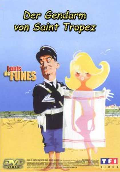 German DVDs - The Gendarme Of Saint Tropez