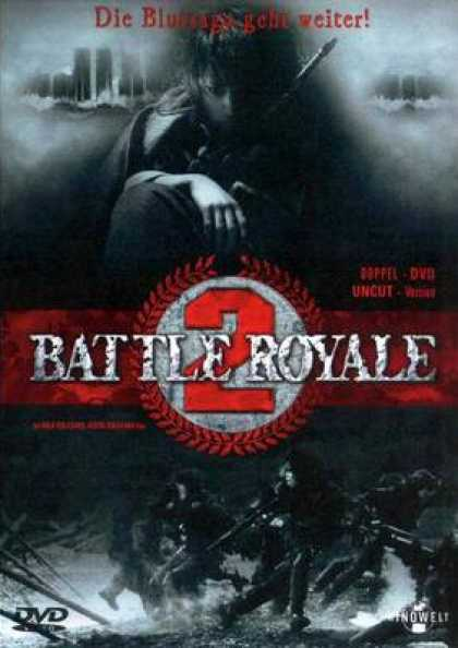 German DVDs - Battle Royale 2