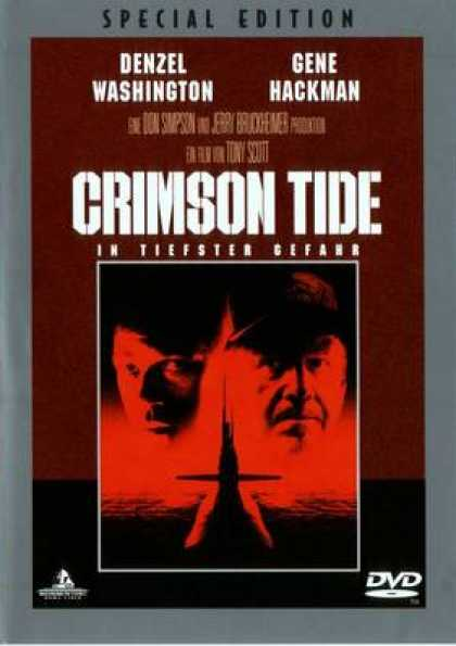 German DVDs - Crimson Tide