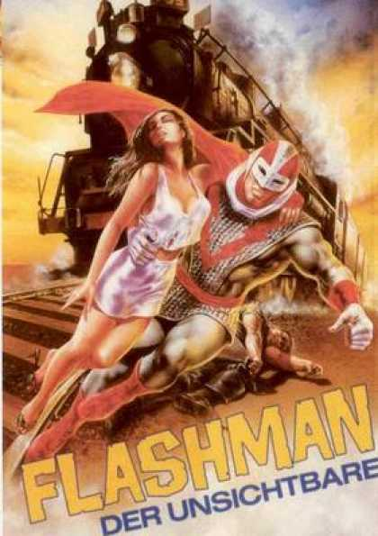 German DVDs - The Invisible Flashman