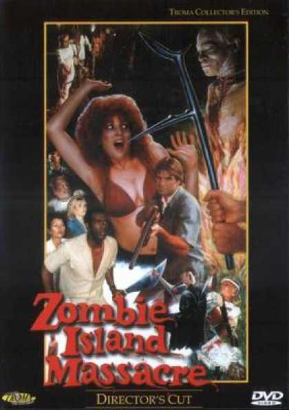 German DVDs - Zombie Island Massacre