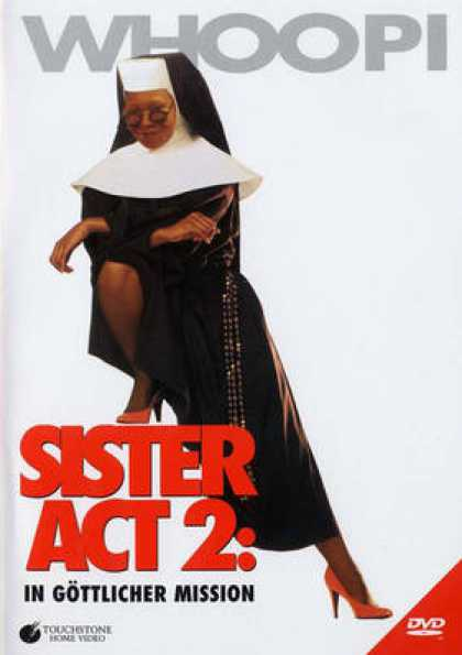 German DVDs - Sister Act 2