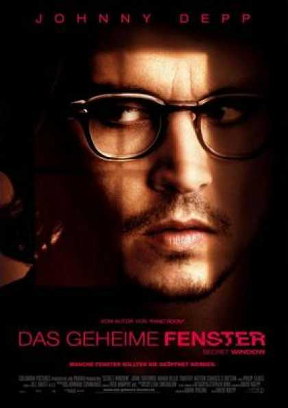 German DVDs - The Secret Window