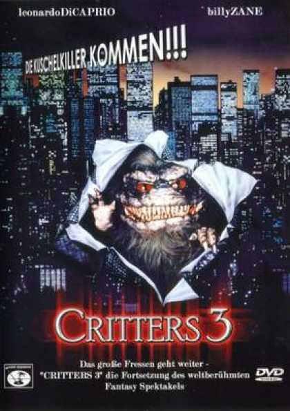 German DVDs - Critters 3