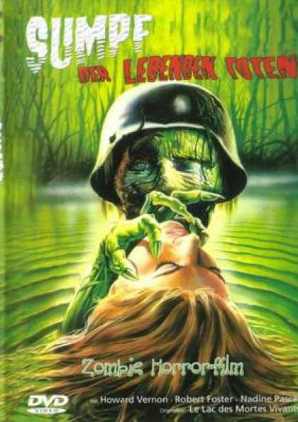 German DVDs - Swamp Zombies