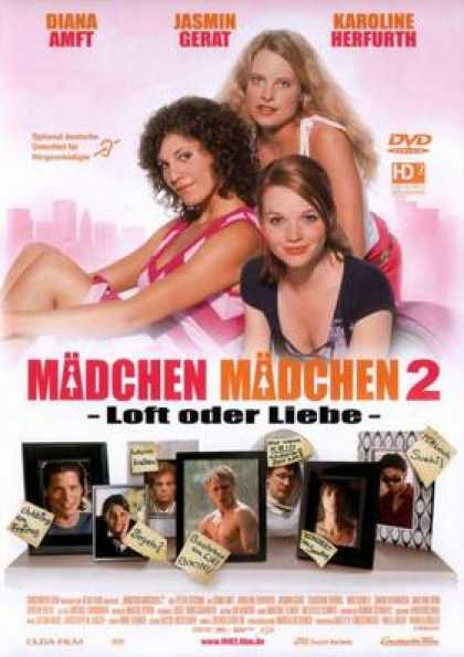 German DVDs - Girls On Top 2