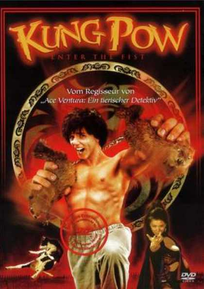 German DVDs - Kung Pow Enter The Fist