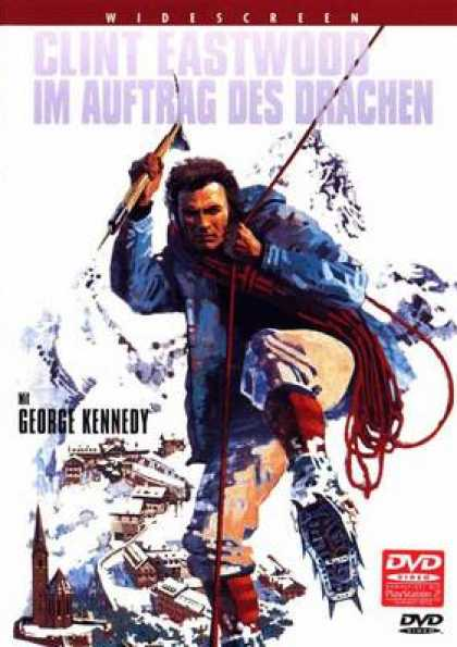 German DVDs - The Eiger Sanction