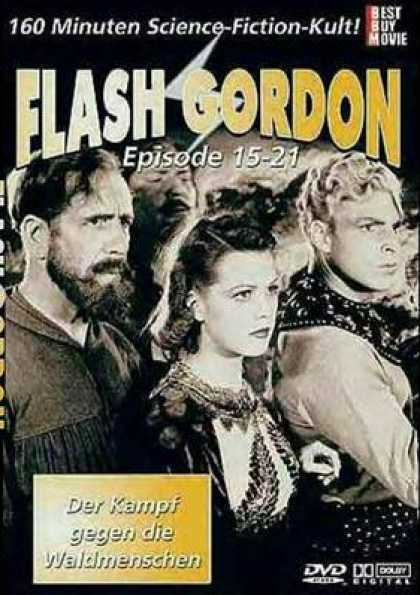 German DVDs - Flash Gordon Episodes 15 - 21