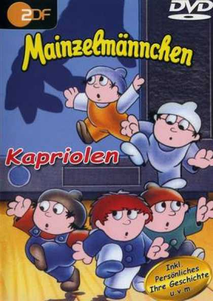 German DVDs - Mainzelmännchen - Kapriolen