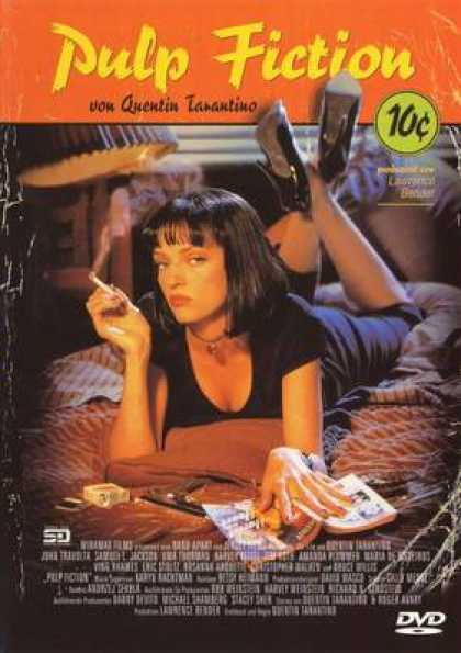 German DVDs - Pulp Fiction