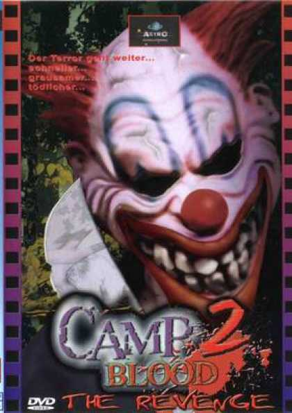 German DVDs - Camp Blood 2: The Revenge