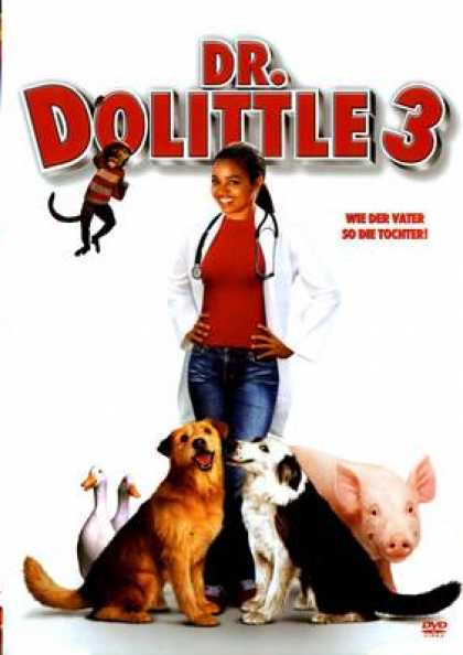 German DVDs - Dr Dolittle 3