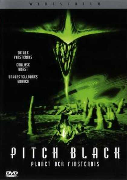 German DVDs - Pitch Black