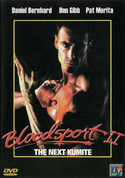 German DVDs - Bloodsport 2