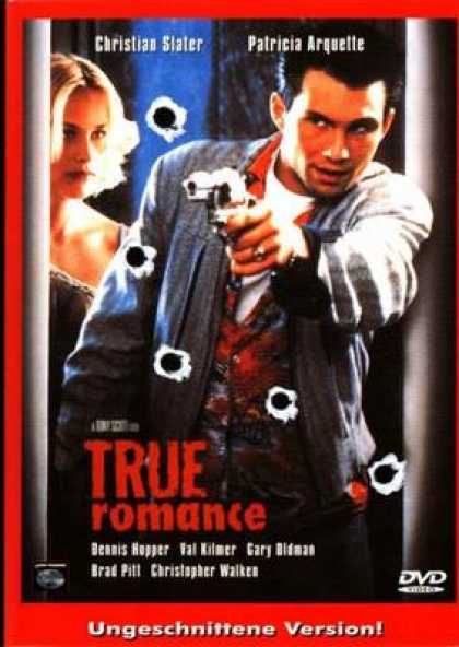 German DVDs - True Romance UNCUT