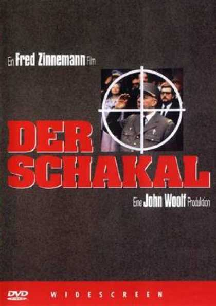 German DVDs - The Day Of The Jackal