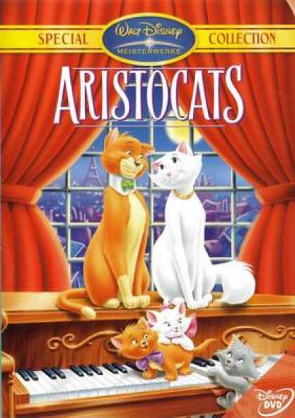 German DVDs - The Aristocats Special Collection
