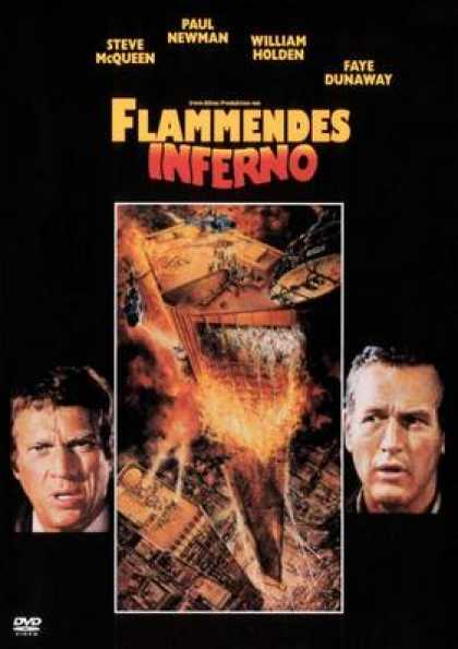 German DVDs - The Towering Inferno
