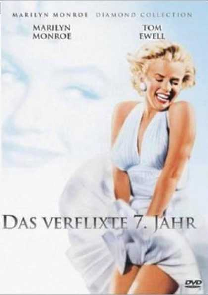 German DVDs - The Seven Year Itch