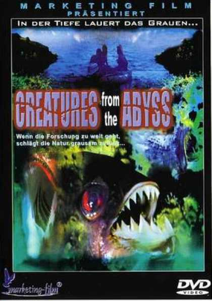 German DVDs - Creatures From The Abyss