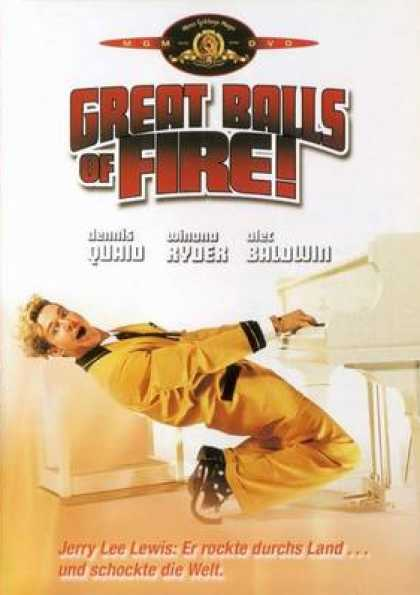 German DVDs - Great Balls Of Fire