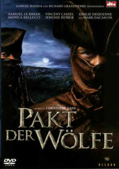 German DVDs - Brotherhood Of The Wolf