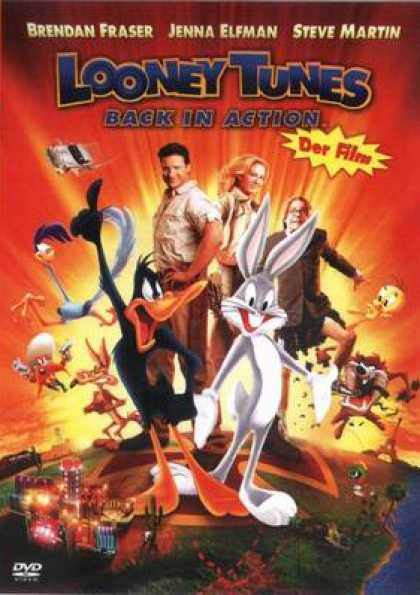 German DVDs - Looney Tunes Back In Action