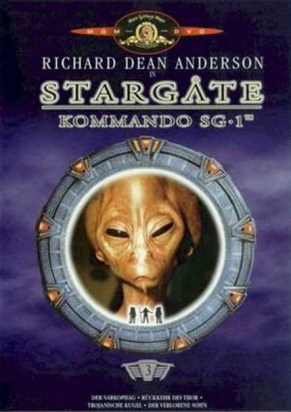 German DVDs - Stargate Commando Sg 1 Vol.3