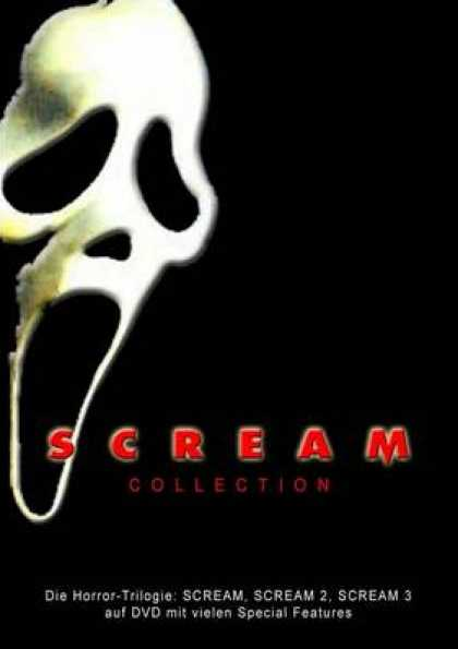 German DVDs - Scream Collection