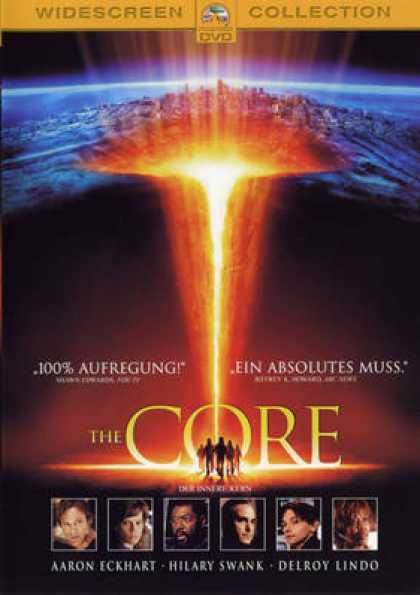 German DVDs - The Core