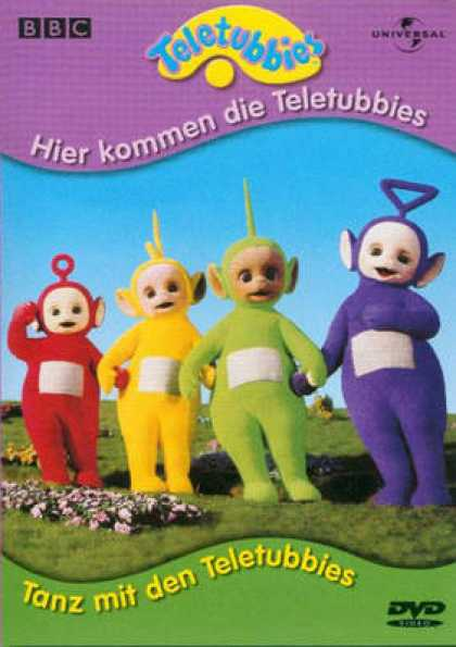 German DVDs - Dance With The Teletubbies