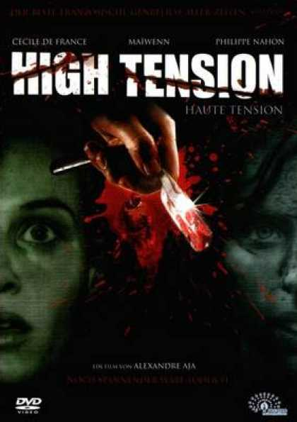 German DVDs - High Tension