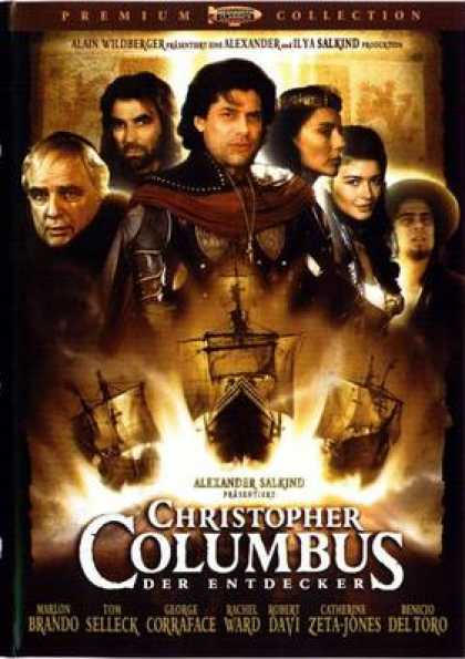 German DVDs - Christopher Columbus The Discovery