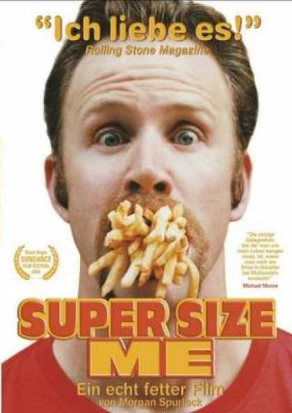 German DVDs - Super Size Me