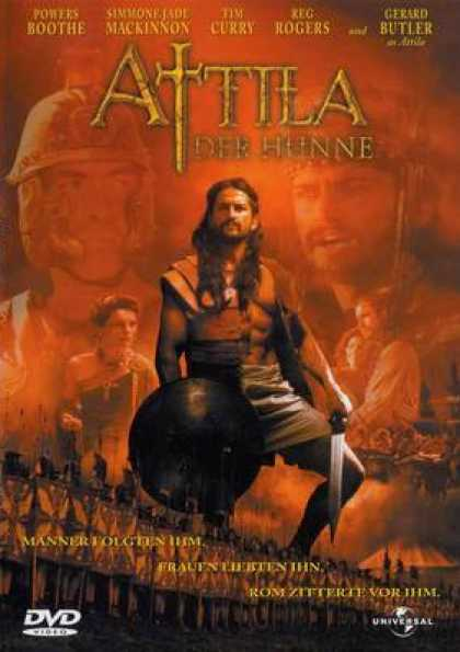 German DVDs - Attila Der Hunne