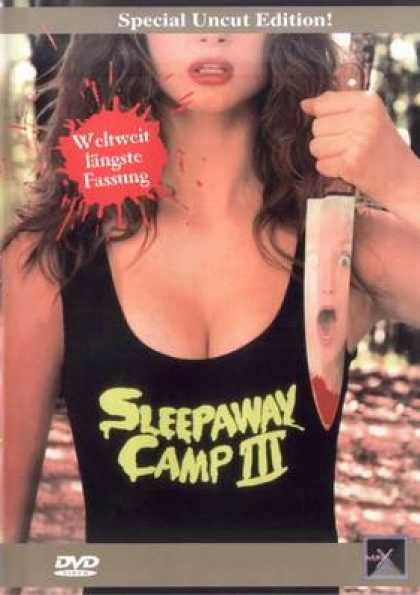 German DVDs - Sleepaway Camp III Uncut