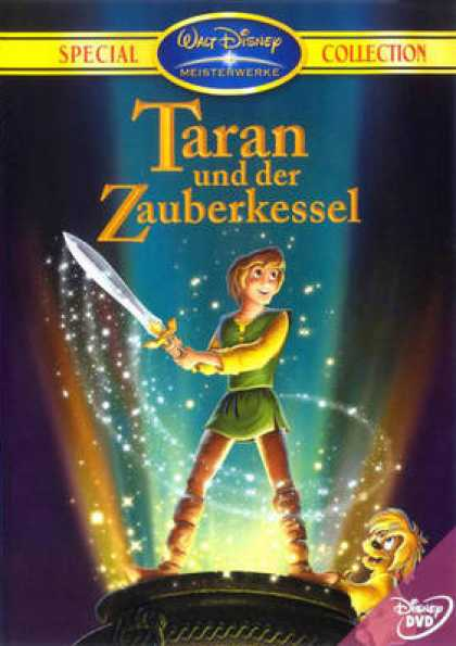 German DVDs - Taran And The Black Cauldron