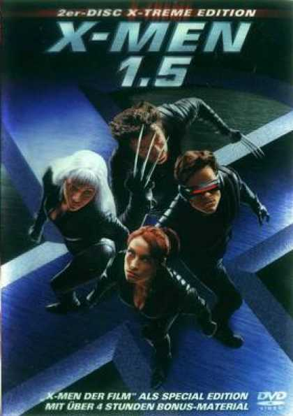 German DVDs - X-Men 1.5 XE