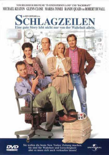 German DVDs - The Paper