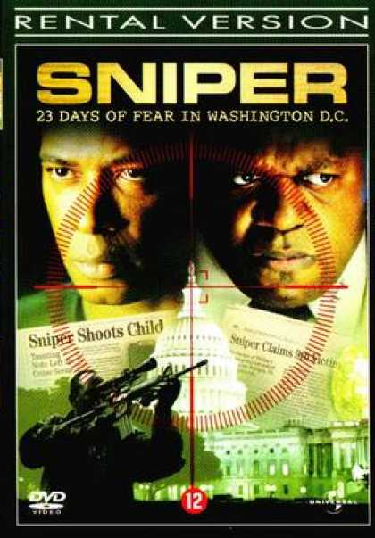 German DVDs - Sniper 23 Days Of Fear In Washington