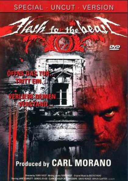 German DVDs - Flesh For The Beast