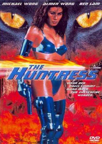 German DVDs - The Huntress