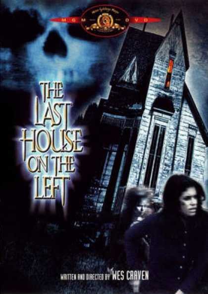 German DVDs - The Last House On The Left Uncut
