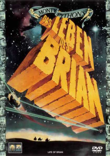 German DVDs - Monty Python's Life Of Brian