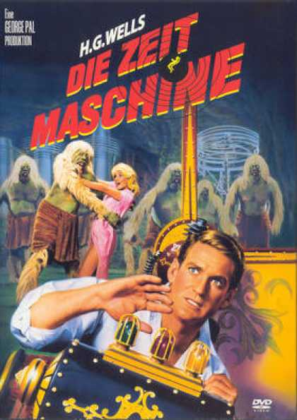 German DVDs - The Time Machine 1960