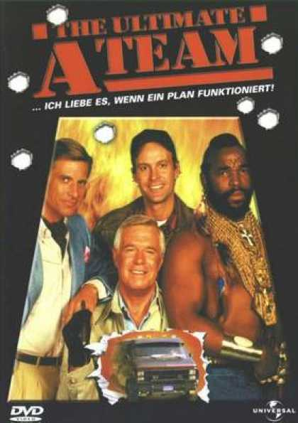 German DVDs - The Ultimate A Team