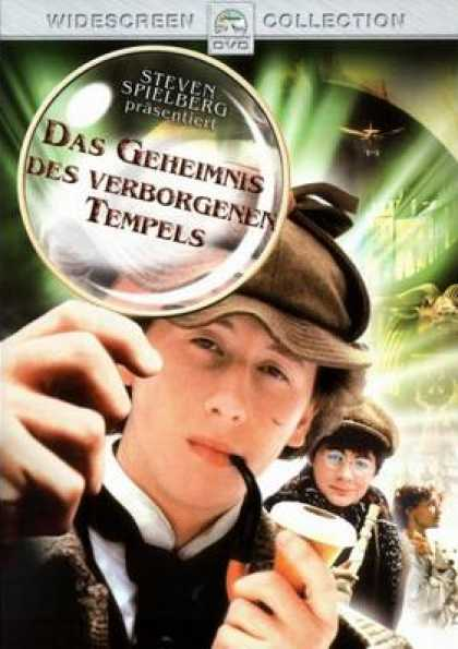German DVDs - Young Sherlock Holmes