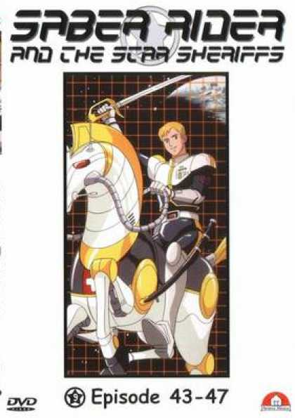 German DVDs - Saber Rider And The Star Sheriffs Vol. 09